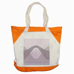Crease Patterns Large Vases Blue Red Orange White Accent Tote Bag