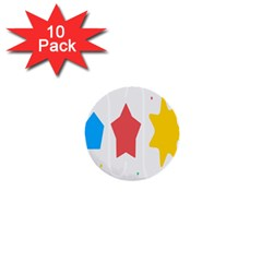 Evolution Jumsoft Star 1  Mini Buttons (10 Pack)
