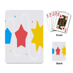 Evolution Jumsoft Star Playing Card