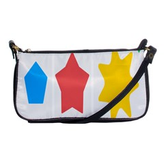 Evolution Jumsoft Star Shoulder Clutch Bags