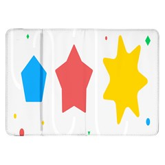Evolution Jumsoft Star Samsung Galaxy Tab 8.9  P7300 Flip Case
