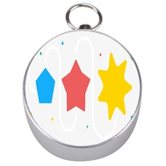 Evolution Jumsoft Star Silver Compasses