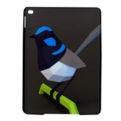 Animals Bird Green Ngray Black White Blue iPad Air 2 Hardshell Cases