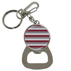 Fabric Line Red Grey White Wave Button Necklaces