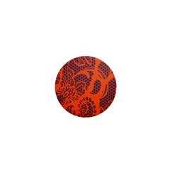 Enlarge Orange Purple 1  Mini Magnets