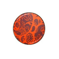 Enlarge Orange Purple Hat Clip Ball Marker (10 pack)