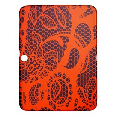 Enlarge Orange Purple Samsung Galaxy Tab 3 (10.1 ) P5200 Hardshell Case