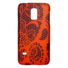 Enlarge Orange Purple Galaxy S5 Mini