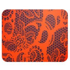 Enlarge Orange Purple Double Sided Flano Blanket (Medium)