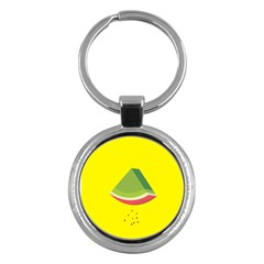 Fruit Melon Sweet Yellow Green White Red Key Chains (round)