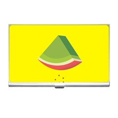 Fruit Melon Sweet Yellow Green White Red Business Card Holders