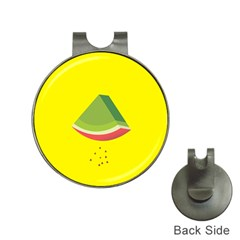 Fruit Melon Sweet Yellow Green White Red Hat Clips with Golf Markers