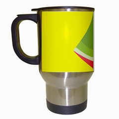 Fruit Melon Sweet Yellow Green White Red Travel Mugs (white)