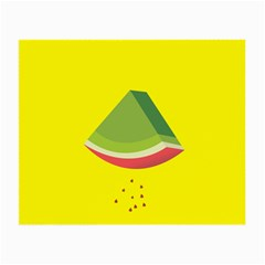 Fruit Melon Sweet Yellow Green White Red Small Glasses Cloth