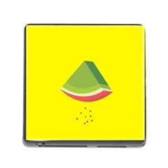 Fruit Melon Sweet Yellow Green White Red Memory Card Reader (square)