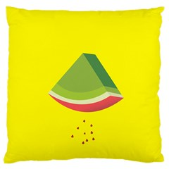 Fruit Melon Sweet Yellow Green White Red Large Cushion Case (Two Sides)