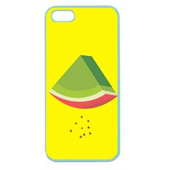 Fruit Melon Sweet Yellow Green White Red Apple Seamless iPhone 5 Case (Color)