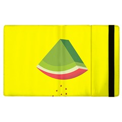 Fruit Melon Sweet Yellow Green White Red Apple iPad 3/4 Flip Case