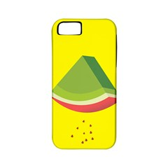 Fruit Melon Sweet Yellow Green White Red Apple iPhone 5 Classic Hardshell Case (PC+Silicone)