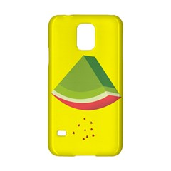 Fruit Melon Sweet Yellow Green White Red Samsung Galaxy S5 Hardshell Case