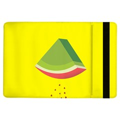 Fruit Melon Sweet Yellow Green White Red iPad Air Flip