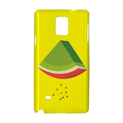 Fruit Melon Sweet Yellow Green White Red Samsung Galaxy Note 4 Hardshell Case