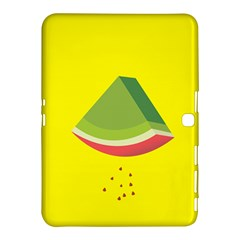 Fruit Melon Sweet Yellow Green White Red Samsung Galaxy Tab 4 (10.1 ) Hardshell Case