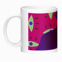 Eye Purple Pink Night Luminous Mugs