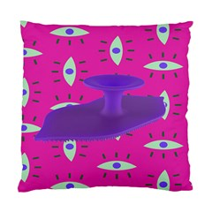 Eye Purple Pink Standard Cushion Case (Two Sides)
