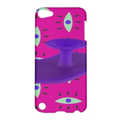 Eye Purple Pink Apple iPod Touch 5 Hardshell Case