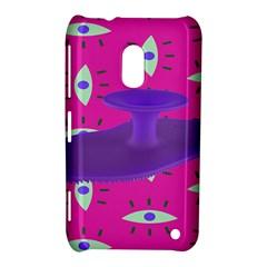 Eye Purple Pink Nokia Lumia 620