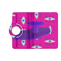 Eye Purple Pink Kindle Fire HD (2013) Flip 360 Case