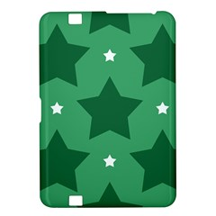 Green White Star Kindle Fire HD 8.9
