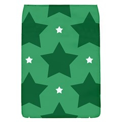 Green White Star Flap Covers (s)