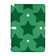 Green White Star Galaxy Note 1