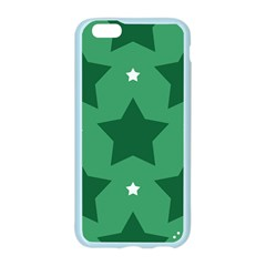 Green White Star Apple Seamless iPhone 6/6S Case (Color)