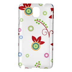 Floral Flower Rose Star Samsung Galaxy Note 3 N9005 Hardshell Case