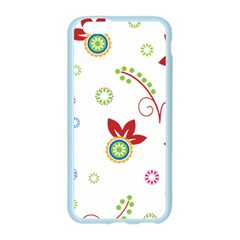 Floral Flower Rose Star Apple Seamless iPhone 6/6S Case (Color)