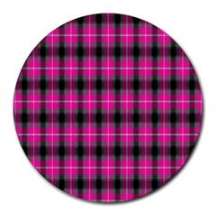 Cell Background Pink Surface Round Mousepads