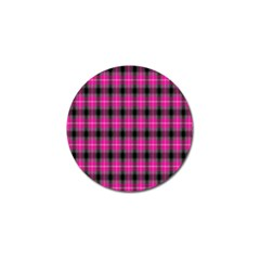 Cell Background Pink Surface Golf Ball Marker (4 Pack)