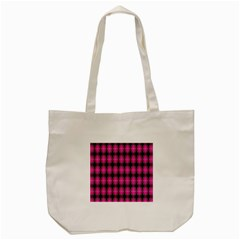 Cell Background Pink Surface Tote Bag (Cream)