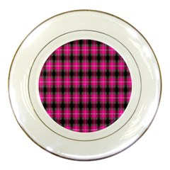 Cell Background Pink Surface Porcelain Plates