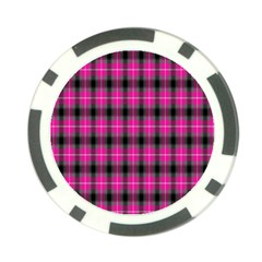 Cell Background Pink Surface Poker Chip Card Guard
