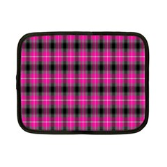 Cell Background Pink Surface Netbook Case (small)
