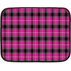 Cell Background Pink Surface Double Sided Fleece Blanket (Mini)
