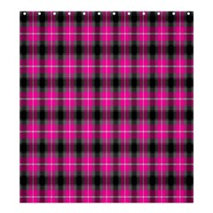Cell Background Pink Surface Shower Curtain 66  x 72  (Large)