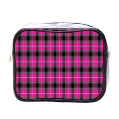 Cell Background Pink Surface Mini Toiletries Bags