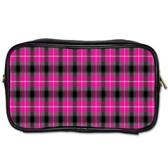 Cell Background Pink Surface Toiletries Bags