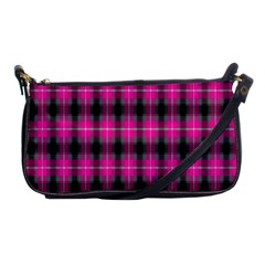 Cell Background Pink Surface Shoulder Clutch Bags