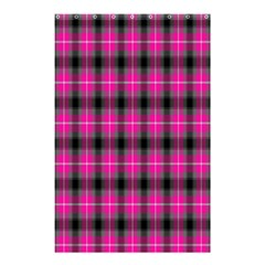 Cell Background Pink Surface Shower Curtain 48  X 72  (small)
